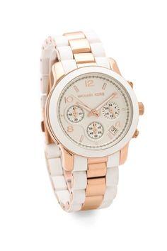 Runway Time Teller Watch-Love ALL Michael Kors watches. Sac Michael Kors, Handbags Michael Kors, Michael Kors Watch, Jewelry Accessories, Fashion Accessories, Gold Jewelry, Jewlery, Mk Watch, Gold Watch