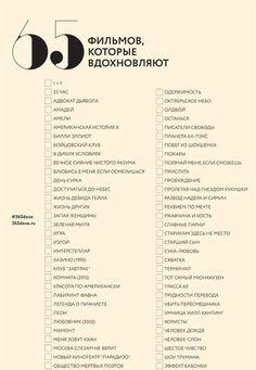 65 фильмов для просмотра и пересмотра - #365done
