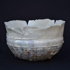Ceramics by Hilary La Force Ceramic Clay, Ceramic Bowls, Ceramic Pottery, Clay Bowl, Glass Repair, Contemporary Ceramics, Pottery Ideas, Clay Art, Serving Bowls