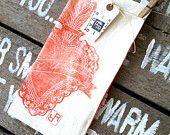 Corazon - Organic Tea Towel by Rincon Road design studio