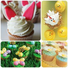 It's Written on the Wall: 29 Different  Easter Cupcake Ideas-So Yummy!