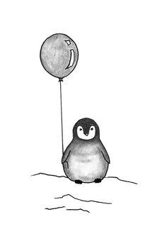 Jasmin Ekström      Penguin sketch