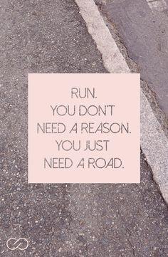 Keep running. | CALIA by  Carrie Underwood
