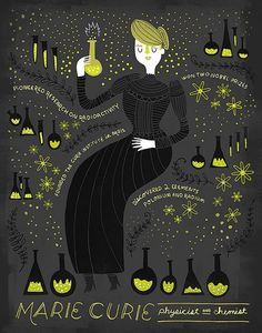 Illustrated Science Prints by Rachel Ignotofsky