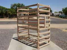 Triple Stacked Twin bunk bed : Perfect for smaller rooms