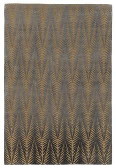Zebra Gold by Neisha Crosland | Tibetan Wool and Silk Rug
