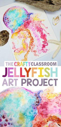 Kids Art Class, Art Lessons For Kids, Art Lessons Elementary, Primary School Art, Back To School Art, Art School, Kids Watercolor, Watercolor Art Lessons, School Art Projects
