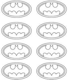 Printable for Sarayahs batman party tags
