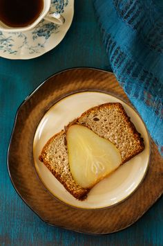 Nutmeg Pear Cake