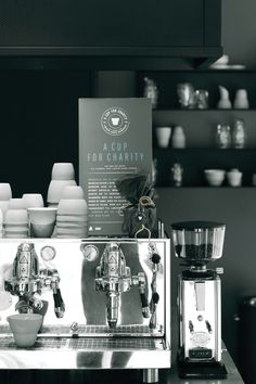 VIPP a cup for charity coffee shop