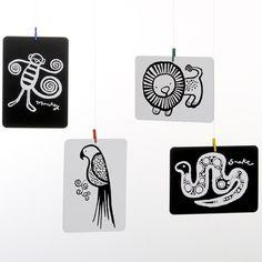 závěsná dekorace fantazie 8 kolíčků | pokojíček | ookidoo.com