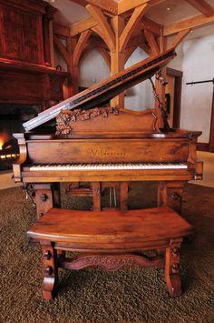 Antigüo piano de cola