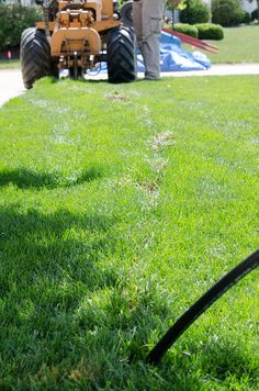 This system was installed in 100% kentucky bluegrass at the end of July. Our techs did a great job in preserving this lawn-no reseeding needed! Irrigation Incorporated, Avon Lake, Oh. www.irrigationcorp.com