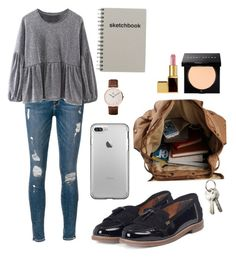 """""""Untitled #89"""" by lizzyloo14 on Polyvore featuring Frame, Barbour, Bobbi Brown Cosmetics, Tom Ford, Daniel Wellington and PATH"""