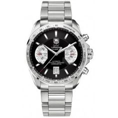 Best TAG Heuer Grand Carrera Calibre 17 Automatic Chronograph 43 mm Watch CAV511A.BA0902