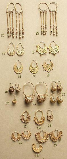 byzantine earrings.