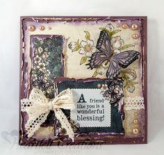 Heartfelt Creations | Tattered Butterfly Card