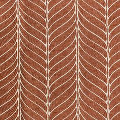 Greenhouse Fabrics, Pattern Matching, Orange Fabric, Printed Cushions, Textile Patterns, Leaf Prints, Custom Pillows, Brick, Upholstery