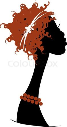 Stock vector ✓ 10 M images ✓ High quality images for web & print | Female head silhouette for your design