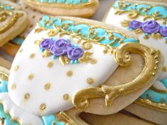 Teacup cookies by .Oh Sugar Events