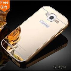 case for samsung i9082 9082 New Aluminum Frame + Mirror Acrylic Back Cover For Samsung Galaxy Grand Duos i9082 i9080 Case
