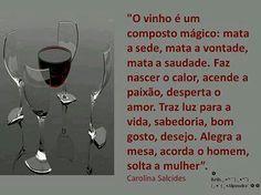 O vinho                                                                                                                                                                                 Mais