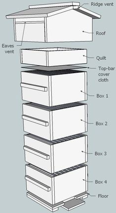 How to construct a Warre Beehive