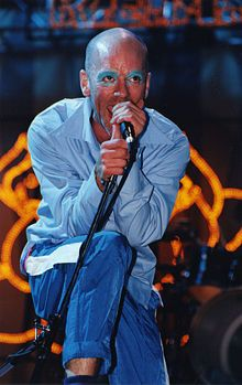 Michael Stipe...loosing my religion! We saw him with R.E.M. perform and he is amazing. Great song!