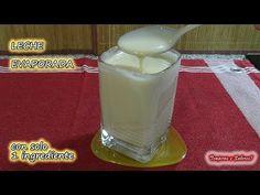 LECHE EVAPORADA con sólo 1 ingrediente más fácil imposible - YouTube Champurrado, Natural Yogurt, Keto, Color Shapes, Condensed Milk, Ricotta, Cake Pops, Glass Of Milk, Food And Drink