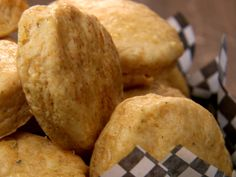 Cheddar Biscuits from CookingChannelTV.com- Chuck Hughes