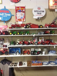 Farm toys from dealer 484 at Jesse James Antique Mall, St Joseph, MO