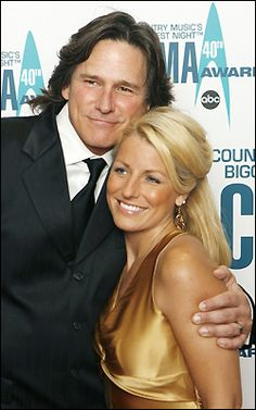 Country singer Billy Dean and his lovely wife, my cousin Stephanie.