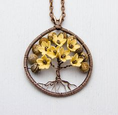 Hey, I found this really awesome Etsy listing at https://www.etsy.com/au/listing/273951774/tree-of-life-necklace-pendant-copper