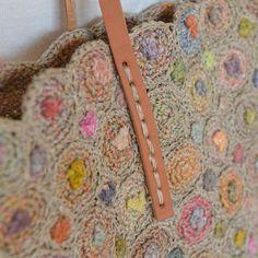 Sophie Digard crochet bag detai
