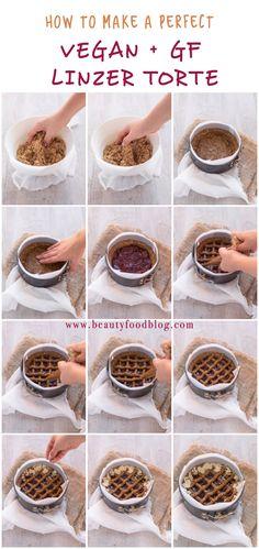 How to make a perfect #vegan #glutenfree linzer torte //ricetta come preparare la LINZER TORTE vegan senza glutine