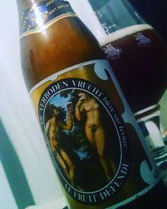 #lefruitdefendu #deverbodenvrucht #brouwerijvanhoegaarden #belgian #strongdarkale #ale #beer #pin