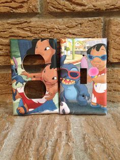 Lilo and Stitch Light Switch and Electrical by Hippiemysticstudio