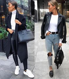 Latest Fashion Trends For Women - Fashion Trends Urban Chic Outfits, Winter Fashion Outfits, Mode Outfits, Classy Outfits, Trendy Outfits, Fall Outfits, Autumn Fashion, Urban Chic Fashion, Black Outfits