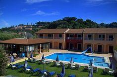 Koursaros Apartments, Sidari, Corfu, Grecia Creta, Corfu, Mansions, House Styles, Apartments, Home Decor, Decoration Home, Manor Houses, Room Decor