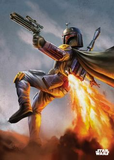 Star Wars Boba Fett metal poster - PosterPlate posters made out of metal