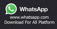 WhatsApp :: www.whatsapp.com Download For All Platform - TrendEbook