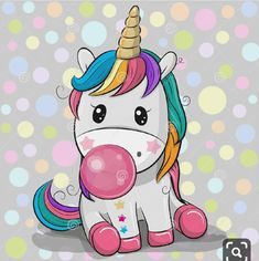 Illustration about Cute Cartoon Unicorn with a pink bubble gum. Illustration of … Illustration about Cute Cartoon Unicorn with a pink bubble gum. Illustration of bubble, head, design – 132172718 Cartoon Cartoon, Cartoon Unicorn, Unicorn Images, Unicorn Pictures, Unicorn Farts, Cute Unicorn, Unicornios Wallpaper, Unicorn Drawing, Pink Bubbles