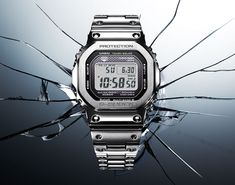 Casio releases its original 5000 Series G-Shock in metal | Acquire