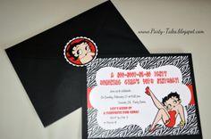 BETTY BOOP Zebra Print Printable digital by ShopPartyTales on Etsy, $12.99