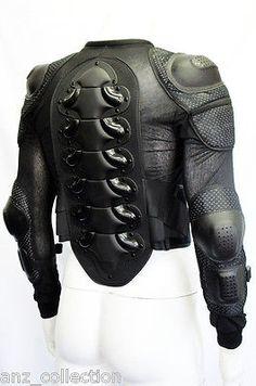 5ba445354 Body Armour Motorcycle Motorbike Motocross spine Protector Guard Bionic  Jacket