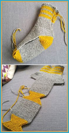 Two Needle Socks - Free Knitting Pattern - Coated - .,Two Needle Socks - Free Knitting Pattern - Coated - ., Produce crochet quilts your self Who does not enjoy a blanke. Crochet Socks, Knitted Slippers, Knitting Socks, Free Crochet, Knit Crochet, Knitting Needles, Loom Knitting, Patron Crochet, How To Knit Socks