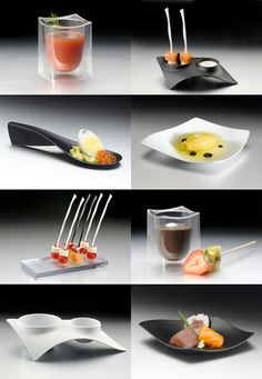 Tast.es: Disposable Elements For Catering