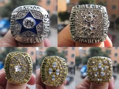 Free Shipping 1971 1977 1992 1993 1995 Dallas Cowboys Superbowl Championship Ring five together sport fan gift football ring♦️ B E S T Online Marketplace - SaleVenue ♦️👉🏿 http://www.salevenue.co.uk/products/free-shipping-1971-1977-1992-1993-1995-dallas-cowboys-superbowl-championship-ring-five-together-sport-fan-gift-football-ring/ US $34.99