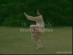 Tai Chi 24 Form with English titles inserted between postures; edited version of video copied from www. The performer is Gao Jiamin. Tai Chi For Beginners, Yoga Poses For Beginners, Kung Fu, Xing Yi Quan, Tai Chi Moves, Learn Tai Chi, Tai Chi Exercise, Tai Chi Qigong, Chinese Martial Arts