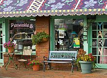 Periwinkle's - dress boutique and novelty yarn shop on Cherry Street in Black…